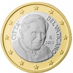 1 EURO VATICAN 2012 BU 85.000 EX.