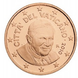 2 CENT VATICAN 2010 BU 94.000 EX.