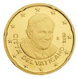 20 CENT VATICAN 2010 BU 94.000 EX.