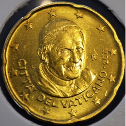 20 CENT VATICAN 2011 BU 94.000 EX.