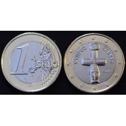 1 EURO CHYPRE 2013 UNC 100.000 EX.