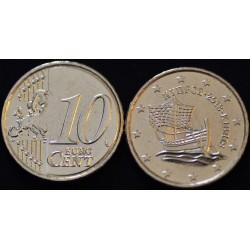 10 CENT CHYPRE 2013 UNC 100.000 EX.