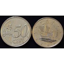 50 CENT CHYPRE 2013 UNC 100.000 EX.