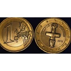 1 EURO CHYPRE 2010 UNC 200.000 EX.