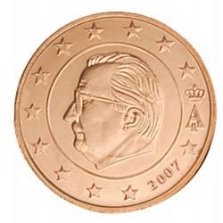 5 CENT Belgique 2007 UNC 55.000 EX.