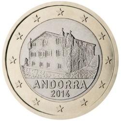 1 EURO ANDORRE 2014 UNC 651.842 EX.