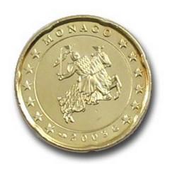 20 CENT MONACO 2003  100.000 EX.