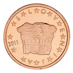 2 CENT SLOVENIE 2011 BU 15.000 EX.
