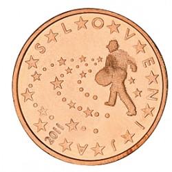 5 CENT SLOVENIE 2011 BU 15.000 EX.