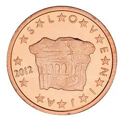 2 CENT SLOVENIE 2012 BU 15.000 EX.
