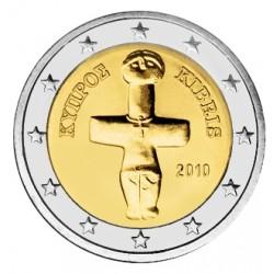 2 EURO CHYPRE 2010 BU 200.000 EX.