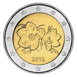 2 EURO FINLANDE 2015 BU 200.000 EX.