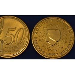 50 CENT PAYS-BAS 2007 UNC 200.000 EX.