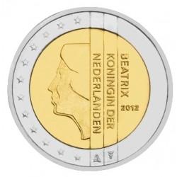 2 EURO PAYS-BAS 2012 BU 200.000 EX.