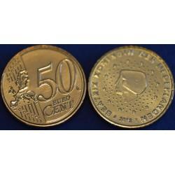 50 CENT PAYS-BAS 2012 UNC 200.000 EX.