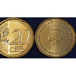 20 CENT PAYS-BAS 2013 UNC 200.000 EX.