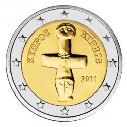 2 EURO CHYPRE 2011 BU 210.000 EX.