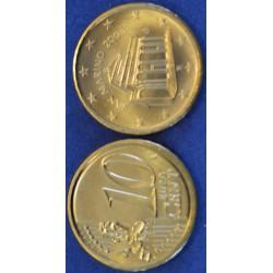 10 CENT SAN MARIN 2004 BU 210.000 EX.
