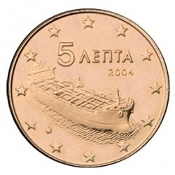 5 CENT Grèce 2004 BU 250.000 EX.