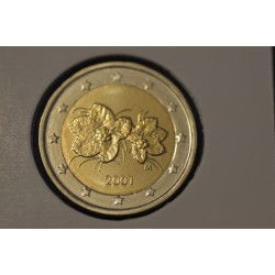 2 EURO FINLANDE 2001 UNC 29.132.000 EX.