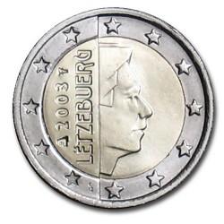 2 EURO Luxembourg 2003 BU 3.600.000 EX.
