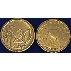20 CENT PAYS-BAS 2005 UNC 300.000 EX.