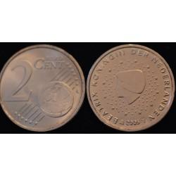 2 CENT PAYS-BAS 2005 UNC 400.000 EX.
