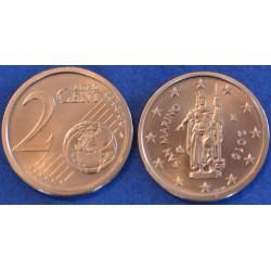 2 CENT SAN MARIN 2010 BU 48.000 EX.