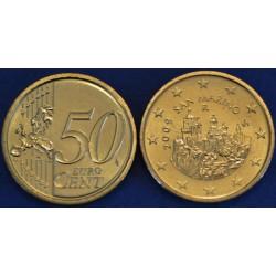 50 CENT SAN MARIN 2009 BU 50.000 EX.