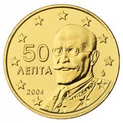 50 CENT Grèce 2004 UNC 500.000 EX.