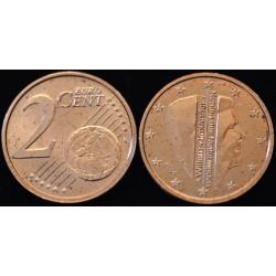 2 CENT PAYS-BAS 2014 UNC 530.000 EX.