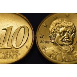 10 CENT Grèce 2003 UNC 600.000 EX.
