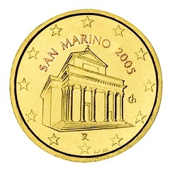 10 CENT SAN MARIN 2005 BU 70.000 EX.