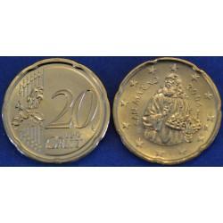 20 CENT SAN MARIN 2004 BU 70.000 EX.
