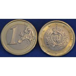 1 EURO SAN MARIN 2005 BU 70.000 EX.