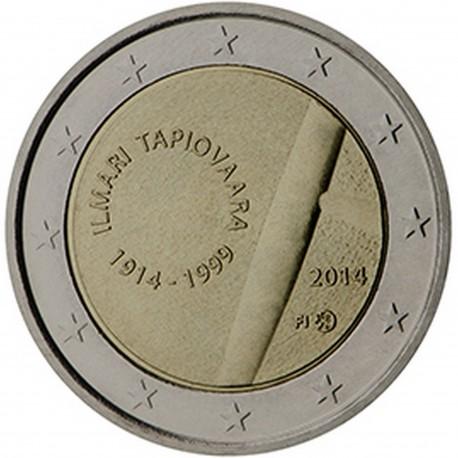 Finlande 2 Euro commémorative 2014 100e anniversaire de la naissance du designer Ilmari Tapiovaara  989.000 EX.
