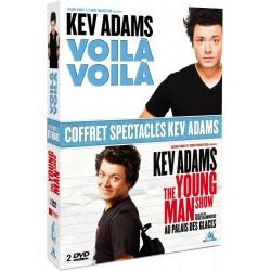 Coffret spectacles Kev Adams : Voilà voilà + The Young Man Show