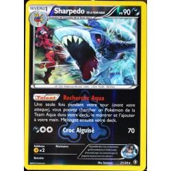 carte Pokémon 21/34 Sharpedo Team Aqua 90 PV - REVERSE Double Danger NEUF FR