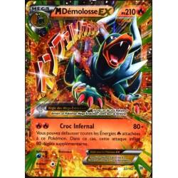 carte Pokémon 22/162 Méga Démolosse EX 210 PV XY - Impulsion Turbo NEUF FR