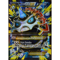 carte Pokémon 156/162 Méga Oniglali EX 220 PV - ULTRA RARE - FULL ART  NEUF FR