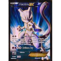 carte Pokémon 157/162 Mewtwo EX 170 PV - ULTRA RARE - FULL ART XY08 NEUF FR