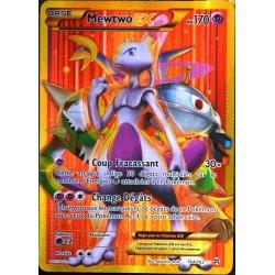 carte Pokémon 164/162 Mewtwo EX 170 PV - SECRET RARE - FULL ART XY08 NEUF FR