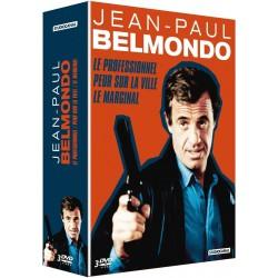 Jean-Paul Belmondo : Le professionnel + Peur sur la ville + Le marginal