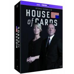House of Cards - Intégrale saisons 1-2-3 [DVD + Copie digitale]