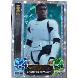 carte TOPPS STAR WARS 209/224 Finn Holographique SW Force Attax NEUF FR