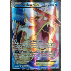 carte Pokémon 114/122 Léviator Ex 180 PV - ULTRA RARE - FULL ART XY - Rupture Turbo NEUF FR