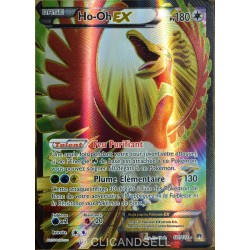 carte Pokémon 121/122 Ho-oh Ex 180 PV - ULTRA RARE - FULL ART XY - Rupture Turbo NEUF FR