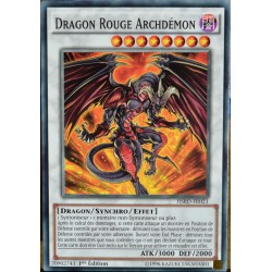 carte YU-GI-OH HSRD-FR023 Dragon Rouge Archdémon NEUF FR