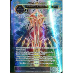 carte Force Of Will TMS-091-FU Excalibur X, Lame des Sept Terres NEUF FR