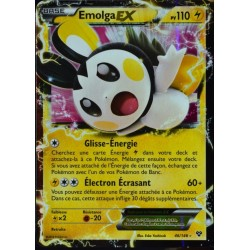 carte Pokémon 46/146 Emolga-EX 110 PV XY NEUF FR